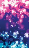 Pink Color,Particle,Vertical,Photographic Effects,Traditional Festival,Illuminated,Vibrant Color,Defocused Lights,Defocused,Concepts And Ideas,Turquoise,Vector,Red,Christmas,Copy Space,Illustrations And Vector Art,Light - Natural Phenomenon,Celebration,Backgrounds,Bright,Shiny,Camera Flash,Blue