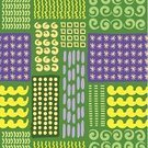 Cultures,Repetition,Abstract,Doodle,Pattern,Backgrounds,Ilustration,Decoration,Vector,Geometric Shape