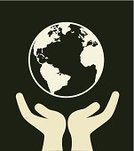 Human Hand,Earth,Concepts,Creativity,Image,Recycling,Nature,Freshness,Ilustration,Environment,Pollution,Rescue,Green Color,Vector,Protection