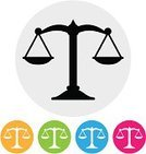 Legal System,Sign,Weight Scale,Classic,Instrument of Measurement,Design Element,Balance,Circle,Justice - Concept,Symbol,Computer Icon,Interface Icons,Law