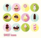 Computer Icon,Dessert,Cold - Termperature,Chocolate Candy,Design Element,Cup,Chocolate,Ice Cream,Cute,Vector,Restaurant,Summer,Part Of,Cupcake,Set,Lollipop,Badge,Party - Social Event,Sweet Food,Candy,Interface Icons,Push Button,Curve,Symbol,Icon Set,Design,Clip Art