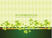 Leprechaun,Creativity,Day,Decoration,Clover,Backgrounds,Tree,Image Created 17th Century,Abstract,Greeting,Ilustration,Saint,Symbol,Vector,Pattern,patrick,Luck,Nature,Leaf