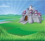 Castle,Princess,Animated Cartoon,Cartoon,Fairy Tale,Backgrounds,Landscape,Picture Book,Old-fashioned,Grass,Fantasy,Backdrop,Focus On Background,Built Structure,Obsolete,Old,Sunrise - Dawn,Building - Activity,Drawing - Art Product,Color Image,Clip Art,Graphic Designer,Image,Design,Sunlight,Stronghold,Gate,Non-Urban Scene,Ilustration,Field,Tower,Fairy,Vector,Sky,Building Exterior,Medieval,Rolling,Computer Graphic,kingdom,Art Product,Hill,Palace,Dawn,Sun,Fort