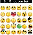 Emoticon,Cheerful,smilies,Vector,Smiling,Yellow,Humor,People,Computer,Positive Emotion,Shiny,Circle,Fun,Facial Mask - Beauty Product,Collection,Grimacing,Joy,Sign,Displeased,Emotion,Laughing,Cute
