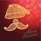 Cards,Christmas,Santa Claus,Season,Greeting Card,Text Messaging,Defocused,Humor,Design Element,Text,Light - Natural Phenomenon,Hat,Greeting,Backgrounds,Red,Star Shape,Celebrities,Star - Space,Lighting Equipment