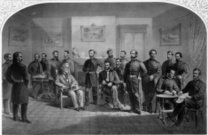 American Culture,Male,Looking At Camera,Horizontal,Black And White,Individuality,Characters,American Civil War,North America,Arts And Entertainment,Customs & Ceremonies,Mpi Cw 291,Military Commander,Visual Art,People,Time,Concepts And Ideas