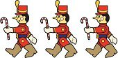 Toy Soldier,Armed Forces,Toy,Marching,Christmas,Three Objects,Three People,Wind-up Toy,Cartoon,Candy,Vector,Doll,Holiday,Walking,Ilustration,Red,Holidays And Celebrations,Cute,Computer Graphic,The Steadfast Tin Soldier,Holiday Symbols,Decoration,Vector Cartoons,Christmas,Illustrations And Vector Art,Gift,Drawing - Art Product