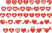 Heart Shape,Heart Suit,Heart - Entertainment Group,Human Heart,Animal Heart,Icon Set,t-shirt design,Game Of Hearts,Vector