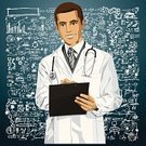 Clipboard,Doctor,Pen,Note Pad,Note,People,Scientist,Vector,Coat,Adult,Smiling,Ilustration,Success,Working,Medicine,Message,Positive Emotion,Ideas,Bacterium,Virus,Healthy Lifestyle,Caucasian Ethnicity,Care,Healthcare And Medicine,Planning,Medical Student,Writing,Men,Male Beauty,Uniform,Professional Occupation,Cheerful,Stethoscope,Male,Human Immune System,Science,Inspiration,Confidence,Research,Quarantine,Flu Virus,Epidemic,General Practitioner