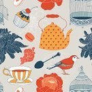 Birdcage,Tea - Hot Drink,Retro Revival,Old-fashioned,Tea Cup,Vector,Home Interior,Cake,Single Flower,Decoration,Macaroon,Ilustration,Creativity,Teapot,Chrysanthemum,Cute,Sweet Food,Romance,Entertainment,Outline,Breakfast,Cupcake,Isolated,Coffee - Drink,Morning,Peony,Simplicity,Seamless,Repetition,Backgrounds,Dessert,Backdrop,Ornate,Rose - Flower,Bird,Porcelain,Wallpaper Pattern,motives,Antique,Victorian Style,Spoon,Drawing - Art Product,Computer Graphic,Pattern,Cup,Modern,New,Drink