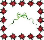 Christmas,Poinsettia,Picture Frame,Frame,Christmas Decoration,Garland,Holiday,Decoration,Wreath,Vector,Red,Backgrounds,Isolated,Clip Art,Illustrations And Vector Art,Holidays And Celebrations,Square,Christmas,Vector Backgrounds,Ilustration,Single Flower,Angle,Green Color,Old-fashioned,Part Of