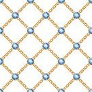 Circle,Gemstone,Jewel - Singer,Crossing,Jewelry,Part Of,Geometric Shape,Sapphire,Chain,Gold,Style,Print,Modern,Vector,Wallpaper,Blue,Backgrounds,Gold Colored,Pattern,Elegance,Macro,Ornate,Design Element,Textile,Link,Computer Graphic,Decoration,Beauty,Fashion,Rhombus,Yellow,Textured Effect,Backdrop,Seamless,Metal