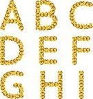 Sequin,Text,Decoration,Colors,Vibrant Color,Pattern,Backgrounds,Design,Vector,Stitch,Metallic,Fashion,Glitter,Jewelry,Glamour,Shiny,Textured Effect,Yellow,Alphabetical Order,Alphabet,Gold,Gold Colored,Typescript,Metal