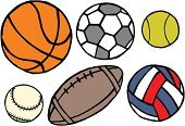 Sketch,Soccer,Sport,Ball,Baseballs,Baseball - Sport,Collection,Single Object,hand drawing,Volleyball,Painted Image,Doodle,Basketball,Design,Outline,Basketball - Sport,Set,Art,Volleyball - Sport,Drawing - Art Product,Ilustration,Tennis,hand drawn,Vector,Simplicity