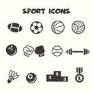 Symbol,Sport,Icon Set,Badminton,Gym,Medal,Weights,Healthy Lifestyle,Ilustration,Black Color,Rugby,Sign,Exercising,Podium,Bowling,Boxing,White,Ball,Award,Competition,Hobbies,Activity,Winning,Pool Game,Vector,Tennis,Dumbbell,Soccer