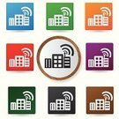 Wireless Technology,Data,Computer Graphic,Circle,Technology,Computer,Communication,Multi Colored,WEP,Time Zone,Internet,Symbol,Tower,Laptop,Reflection,Blue,Frequency,Broadcasting,Shiny,Sign,Vector,Radio