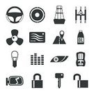 Car,Computer Icon,Flat,Driving,Personal Accessory,Vehicle Part,Repairing,Lock,Energy,Electric Fan,Computer Graphic,Childishness,Air,Lighting Equipment,Piano Tuner,Mirror,Wheel,Set,Silhouette,Gear,Elegance,Protection,Sound,Machinery,Vehicle Seat,Radio,Service,Shampoo,Vitality,Order,Black Color,Headlight,Protective Workwear,Electricity,Key,Side View,Speaker,Street,Road,Closed,laconic,Searching,Oil,Map,Open
