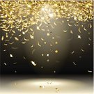 Bright,Computer Graphics,Image,Glamour,Event,Decor,Symbol,Shiny,Falling,Shape,Bright,Gold,Cultures,Decoration,Fun,Computer Graphic,Ribbon - Sewing Item,Confetti,Glitter,Gold Colored,Abstract,Illustration,Celebration,Group Of Objects,Vector,Swirl,Brightly Lit,Holiday - Event,year'S,Design Element