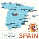 Spain,Cartography,Map,Madrid,Vector,Spanish Flag,Canary Islands,Isolated On White,Pamplona,European Union Flag,Majorca,City,Infographic,Outline,Flag,International Border,Bilbao,Famous Place,Black Color,Blue,No People,Capital Cities,Cordoba,Mediterranean Culture,Malaga,White Background,Valencia,Ibiza Island,European Union,Las Palmas De Gran Canaria,Town,Text,Ilustration,Malaga,Coat Of Arms,Mediterranean Countries,Europe,Spanish Culture,Southern Europe,Symbol,Barcelona,Mediterranean Sea,Spanish and Portuguese Ethnicity