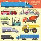 Truck,Car,Set,Vector,Symbol,Style,Design Element,Infographic,Single Object,Pick-up Truck,Ilustration,Mining,Vehicle Trailer,Armored Tank,Electric Mixer,Hydraulic Platform,Cargo Container,Minibus,Articulated Bus,Dump Truck,Car Transporter,Computer Graphic,Traffic,Cute,Abstract,Land Vehicle,Forklift,Decor,Icon Set,Transportation,Retro Revival,Refrigerator,Tractor,Fire - Natural Phenomenon,Flatbed Truck,Train,Design,Road,Construction Industry