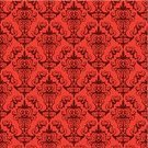 Woven,Scribble,Silk,History,Spiral,Wall Covering,Textile,Vector,Art,Ilustration,Textured,Backgrounds,Decoration,Pattern,Wallpaper Pattern,Retro Revival,Glamour,Abstract,Red,Elegance,Seamless,Floral Elements,Floral Pattern,Old-fashioned,Design