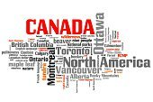 Concepts & Topics,Concepts,Symbol,Text,Horizontal,North America,Label,Canada,Vancouver - Canada,Ottawa,Toronto,Montreal,Single Word,Illustration,No People,Keywords,Keyword,Word Cloud,Country - Geographic Area