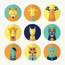 Avatar,Animal,Flat,Smiley Face,Mountain Lion,Yellow,New,Computer Network,forelock,Nobility,Fun,Tiger,Animal Nose,Horned,Muzzle,Folded,Hipster,Domestic Cat,Macaque,Deer,Tie,Undomesticated Cat,Colors,Elegance,Bear,Vibrant Color,Cute,Fox,Juicy,Shadow,Social Issues,Circle,Horse,Snout,Giraffe,Smiling,Orange Color,Global Communications,Variation,Green Color,Elk,Camel,Young Animal,Awe,Community,Animal Family,Characters,Blue