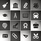 Museum,Library,Science,University,Label,Ruler,Planet - Space,poerty,Pencil,Learning,Education,Blackboard,Bus,Book,Diploma