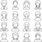 Used,People,Casual Clothing,Symbol,Individuality,Identity,Communication,Sport,Design,Orthographic Symbol,Computer Icon,Intelligence,Teenager,Adult,Outline,Illustration,Males,Men,Females,Women,Teenage Girls,Vector,Characters,Collection,Clip Art,Design Element,Icon Set,Avatar,268399