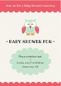 Baby Shower,Invitation,Wishing,Birthday,Love,Postcard,Daughter,Greeting,Backgrounds,Ilustration,Celebration,honoring,Young Bird,owlet,Gift,Animal,Vector,Decoration,Little Boys,announce,Owl,Affectionate,Child,Cute,Bird
