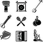 Musical Instrument,Maraca,Accordion,Africa,Drum,World Music,Bagpipe,Music,Sitar,Indian Culture,Symbol,Religious Icon,Panpipe,Vector,Spanish Culture,Castanets,India,Computer Icon,Gong,Japanese Culture,Shamisen,Icon Set,Scottish Culture,German Culture,African Drum,Clip Art,Ilustration,South America,Black And White,South American Culture,No People,Illustrations And Vector Art,Isolated-Background Objects,Music,Arts And Entertainment,Isolated Objects