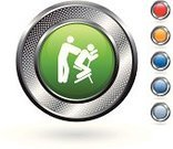 Massaging,Symbol,Computer Icon,Health Spa,Spa Treatment,Relaxation,Set,Green Color,Healthy Lifestyle,Blue,Grid,Orange Color,Red,Silver - Metal,Hole,template,Circle,Metal,Healthcare And Medicine,Empty,back massage,Metallic,Blank,Silver Colored,Curve