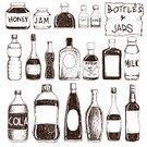 Bottle,Sketch,Old-fashioned,Whiskey,Jar,Glass - Material,Brandy,Cartoon,Honey,Label,Domestic Kitchen,Drawing - Art Product,Preserves,Soda,Lemonade,Lemon Soda,Set,Drinking Water,Juice,Liquid,Drink,Cooking,Design Element,Jug,Storage Compartment,Collection,Pepper,Vector,Cocktail,Cola,Painted Image,Salt,Vodka,Tequila - Drink,Wine,Beer - Alcohol,Isolated,Design,Champagne,Blinds,Cooking Oil,Toxic Substance,Beer Bottle,Ilustration,Water,Doodle,Container,Milk Bottle,Restaurant,Alcohol,Wine Bottle,hand drawn,Empty