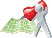 Map,Thumbtack,Famous Place,Direction,Road Map,Searching,Aiming,Tourism,Mascot,Vector,Road,Application Software,Red,Town,Accuracy,Street,Travel,Silver Colored,Silver - Metal,One Person,Business Travel,City Map,Figurine,nav,Document,Guidance,Folded,Men,Isolated,Distance Marker,Global Positioning System,Pushing,Pointing,Characters,Tripping,Personal Organizer,Journey,City,Sign,The Human Body,Symbol,Computer Icon,People,Holding,Straight Pin,Drawing - Art Product,Ilustration,Paper,People Traveling,Pinning