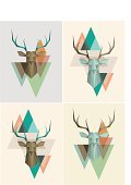 Hipster,Geometric Shape,Deer,Animal Head,Triangle,Mountain,Tattoo,Stencil,Animal,Pastel Colored,Fashionable,Gray,Duvet,Textile,Wallpaper,Abstract,Composition,Decoration,Design,Beige,Backgrounds,Imagination,Inspiration,Green Color,Plan,Modern,Wallpaper Pattern,Funky,Horned,Vector,Old-fashioned,Design Professional,Pattern,Part Of,Elegance,Pastel Background,Ideas,Creativity,Ilustration,Print,Palette,Retro Revival,Book Cover,Harmony