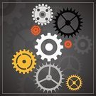 Machinery,Equipment,Gear,Industry,Backgrounds,Machine Part,Illustration,No People,Vector