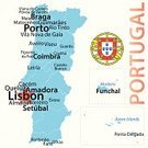 Map,Cartography,Lisbon - Portugal,Azores,Portugal,Spain,Vector,Portuguese Culture,Atlantic Ocean,Infographic,Blue,Isolated On White,Porto,Ilustration,Fatima,European Union Flag,Mediterranean Sea,No People,Braga,Europe,Madeira,Coat Of Arms,City,European Union,Spanish and Portuguese Ethnicity,Mediterranean Culture,Symbol,White Background,Capital Cities,International Border,Text,Black Color,Town,Flag,Outline,Famous Place
