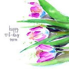 Watercolor Painting,Flower,Tulip,Pink Color,Paintbrush,Paintings,Bud,Postcard,Covering,Decoration,Multi Colored,Color Image,Cards,Modern,Ilustration,Art,Creativity,editable,Affectionate,Ornate,Summer,Invitation,Springtime,Fantasy,Bouquet,Branch,Petal,Blossom,Birthday,Autumn,Backgrounds,Beauty,Romance,Nature,Happiness,Bush,Environment,Wallpaper,Remote,Fashionable,Mother,template,Design