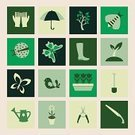 Bee,Vegetable Garden,Computer Icon,Icon Set,Symbol,Flower Bed,Gardening,Hand Shovel,Outdoors,Bird,Nature,Growth,Landscaped,Human Hand,Pruning,Spring Symbol,Summer,Organic,Sowing,Tree,Planting,Vector,Mowing,Watering
