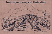 Tuscany,House,Drawing - Activity,Ilustration,Retro Revival,Old-fashioned,Hill,Drawing - Art Product,France,Pencil Drawing,Vine,Gardening,Wine,Olive Tree,hand drawn,Outdoors,Vegetable Garden,Landscape,Romance,Nature,Organic,Outline,Landscaped,Sketch,Label,Medieval,Summer,Fruit,Field,Farm,Old,Craft,Design,Village,Grape,Vineyard,Agriculture,Harvesting,Vector,Tower,Horizon,Tree,History,Autumn,Winery,Olive,Vegetable,Horizon Over Land,Cultures,Rural Scene,Non-Urban Scene,Brown,Paper,Cottage,Land