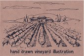 France,Ilustration,Cultures,Tuscany,Non-Urban Scene,Rural Scene,House,Retro Revival,Gardening,Wine,Vegetable Garden,hand drawn,Horizon Over Land,Land,Craft,Vegetable,Hill,Vine,Drawing - Art Product,Outline,Medieval,Landscaped,Sketch,Label,Organic,Old,Field,Farm,Summer,Drawing - Activity,Fruit,Outdoors,Village,Grape,Vineyard,Agriculture,Harvesting,Vector,Tower,Horizon,Tree,History,Old-fashioned,Autumn,Olive,Olive Tree,Nature,Romance,Pencil Drawing,Design,Winery,Brown,Paper,Cottage,Landscape