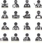 Black And White,Sales Clerk,Computer Icon,Symbol,Firefighter,Weight Training,Business,Lifeguard,White Collar Worker,Recruitment,Job - Religious Figure,Interface Icons,Digitally Generated Image,File Clerk,Tennis,Nurse,Vector,Clip Art,Creativity,Part Of,Godfather,Occupation,Silhouette,Ilustration,Professional Occupation,Make-up Artist,Architect,Ideas,Athlete,Cashier,Businessman,Weightlifting,Soccer,Badminton,Design Element,Collection,Computer Graphic,Employment Issues,Musical Conductor,Priest,Professional Sport,Inspiration,Pattern,People,Bartender,Web Page,Hairdresser,Back Lit,Design