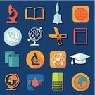 Microscope,Graduation,Ilustration,Book,Learning,University,Collection,Geometric Shape,Computer Graphic,Education,Science,Certificate,Creativity,Vector,Backgrounds,Abstract,Symbol,school bell,Student,Teaching,Pencil,Sign