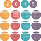 Calendar,2015,January,March,Year,template,Computer Icon,Circle,Personal Organizer,Symbol,December,Month,Event,Number,Day,May,Colors,August,Classic,October,September,Horizontal,June,Internet,Web Page,Calendar Date,November,Season,New,Computer Graphic,Design,Simplicity,July,Design Element,April,February,Vector,Plan