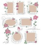 Romance,Sign,Cute,Frame,Curled Up,Label,Invitation,Old-fashioned,Doodle,Ornate,Frame,Shape,Fashion,Pattern,Greeting,Love,Ilustration,Fun,Vector,Sketch,template,Wedding,Set,Drawing - Art Product,Design Element,Design,Message,Greeting Card,Backgrounds,Text Messaging,Retro Revival,Decoration,Memories,Elegance,Outline,Sweet Food,Pink Color,Banner,Scrapbook,Style,Lace - Textile,Tag,Flower