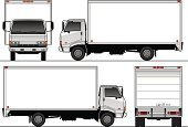 Truck,Delivery Van,Moving Van,Relocation,Freight Transportation,White,Transportation,Hino,Shipping,Mode of Transport,Land Vehicle,Trucking,Messenger,work truck,Cabover