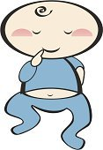 Baby,It's A Boy,Child,Toddler,Little Boys,Male,Illustrations And Vector Art,Son