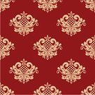 Wallpaper Pattern,Old-fashioned,Retro Revival,Antique,Decor,Victorian Style,Design,Computer Graphic,Ornate,Scroll Shape,Vector,Textile,Embellishment,Pattern,Royalty,Elegance,Tile,Flourish,Textured,Curve,flourishes,Repetition,Abstract,Flower,Backdrop,Decoration,Swirl,Renaissance,Ilustration,Seamless,Floral Pattern,Red,Silk,Backgrounds,Orange Color