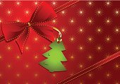 Christmas Tree,Christmas Present,Christmas,Gift,Bow,Gift Tag,Bow,Christmas Card,Holiday,Red,Backgrounds,Diagonal,Winter,Ribbon,Vector,Celebration,Beautiful,Star Shape,Arts Backgrounds,Christmas,Holidays And Celebrations,Arts And Entertainment,Illustrations And Vector Art,Ilustration