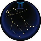 Astrology Sign,Constellation,Gemini - Astrology,Star - Space,Fortune Telling,Astronomy,Zodiac Air Sign,Star Shape,Vector Icons,Religion,Concepts And Ideas,Illustrations And Vector Art